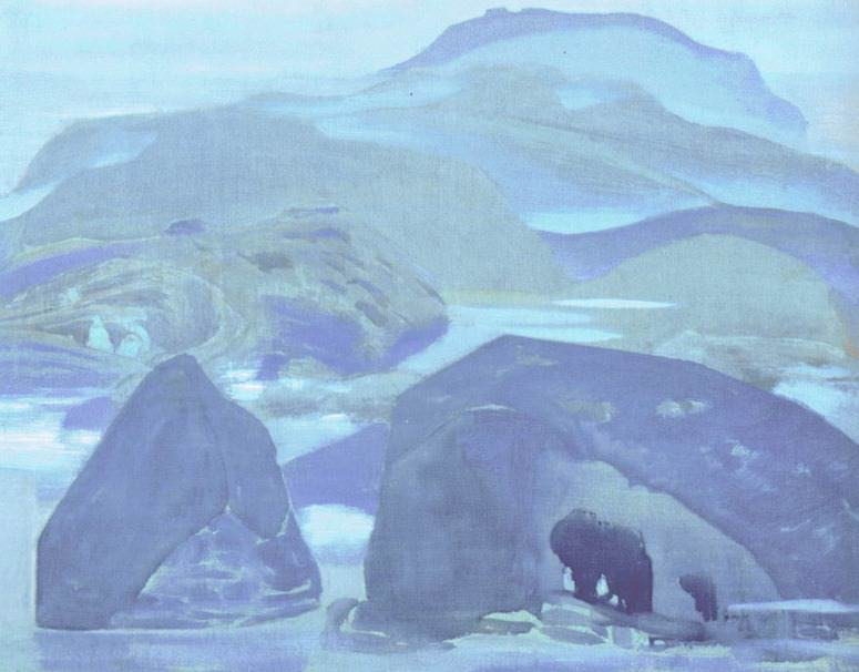 Northern landscape. Roerich N.K. (Part 2)
