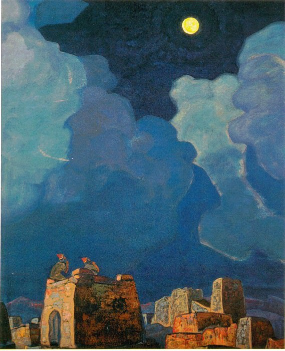 Мехески - лунный народ. Рерих Н.К. (Часть 2)