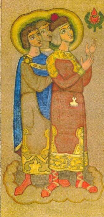 Teens-followers (panels). Roerich N.K. (Part 2)