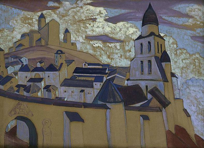 City. Roerich N.K. (Part 2)