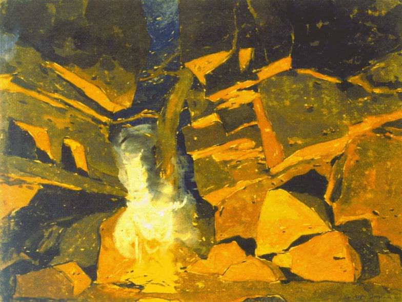 Koster cave. Roerich N.K. (Part 2)