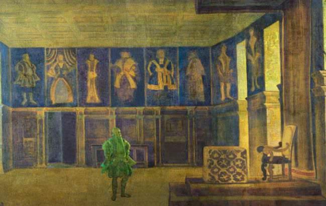 The Last King (empty throne). Roerich N.K. (Part 2)