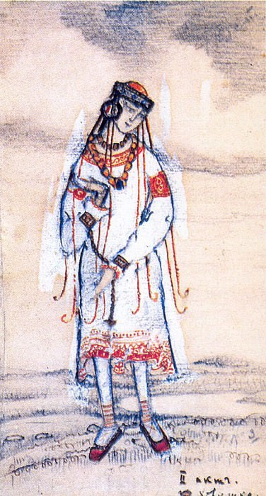 Girl. 2nd Act. Roerich N.K. (Part 2)
