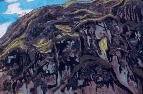 Камни и скалы (Карельский пейзаж). Рерих Н.К. (Часть 2)
