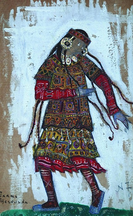 Woman of fashion. I act. Roerich N.K. (Part 2)