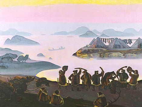 Yarilin calls of # 2. Roerich N.K. (Part 2)