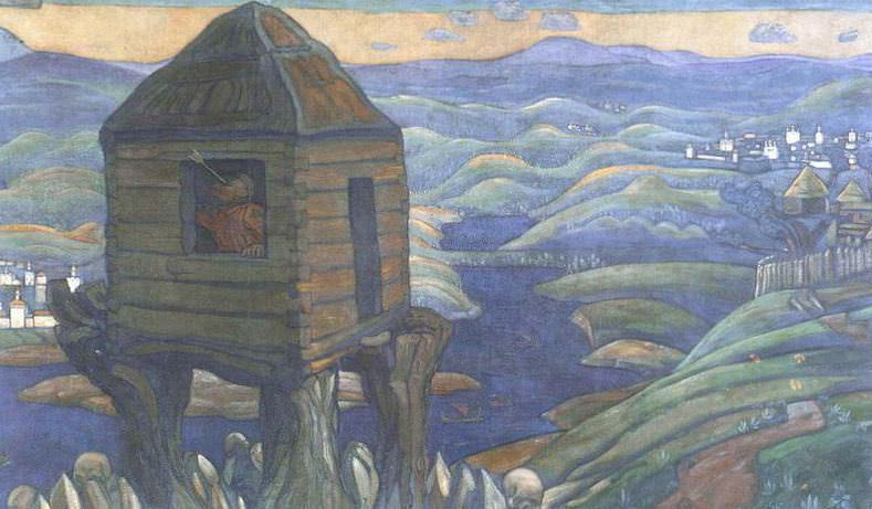 Nightingale robber (decorative panels). Roerich N.K. (Part 2)