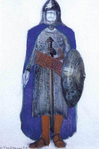 Kurwenal (2nd - 3rd act). Roerich N.K. (Part 2)