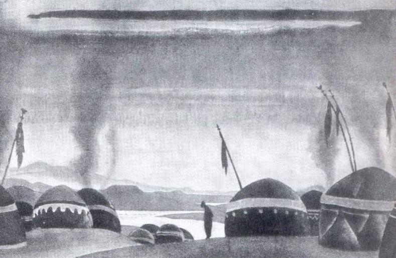 Mill Polovetsky. Roerich N.K. (Part 2)