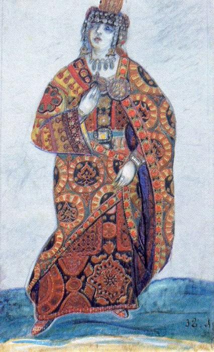 Jaroslavna. Roerich N.K. (Part 2)