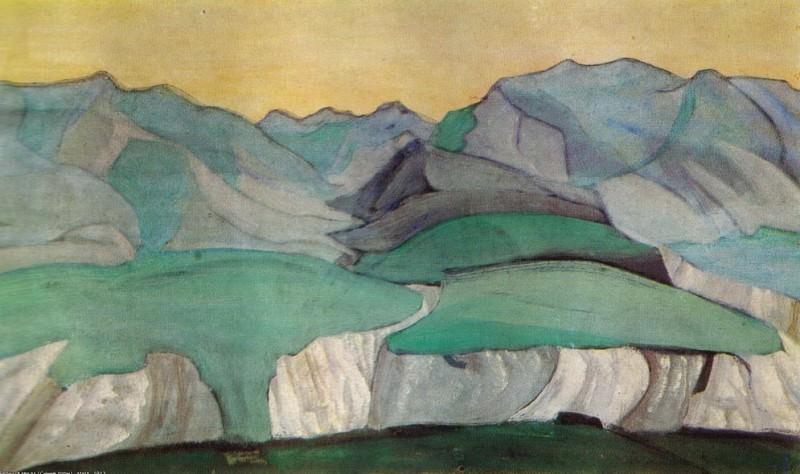 Caucasus (Blue mountains). Roerich N.K. (Part 2)