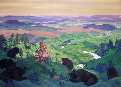 Human forefathers. Roerich N.K. (Part 2)