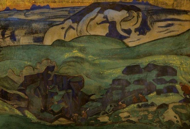 Chudes underground (Chudes underground left). Roerich N.K. (Part 2)