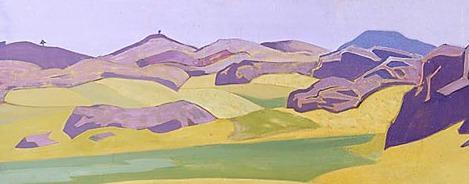 Karelian landscape (4). Roerich N.K. (Part 2)
