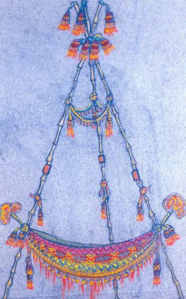Hammock. Props (2). Roerich N.K. (Part 2)
