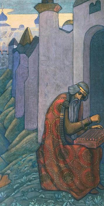 Bayan (decorative panel). Roerich N.K. (Part 2)