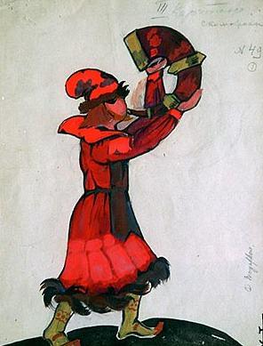 Man a horn. Roerich N.K. (Part 2)