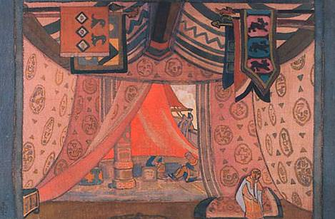 Tent. Tristan # 13. Roerich N.K. (Part 2)
