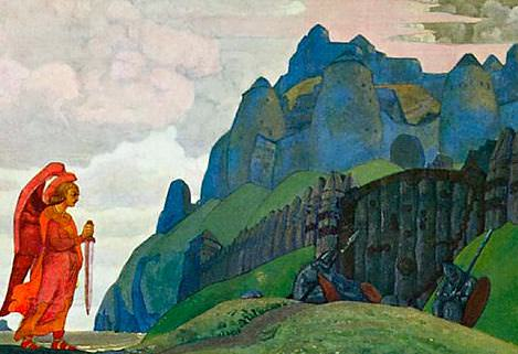 Sword courage. Roerich N.K. (Part 2)
