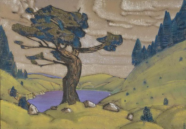 Kiss the Earth. Action 1st (1st version). Roerich N.K. (Part 2)