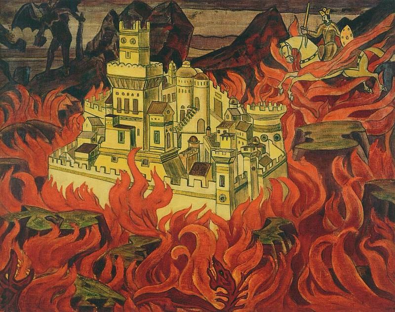 Fairest City - the enemies of anger. Roerich N.K. (Part 2)