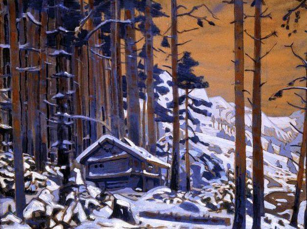 Дом Сольвейг в горах. Рерих Н.К. (Часть 2)