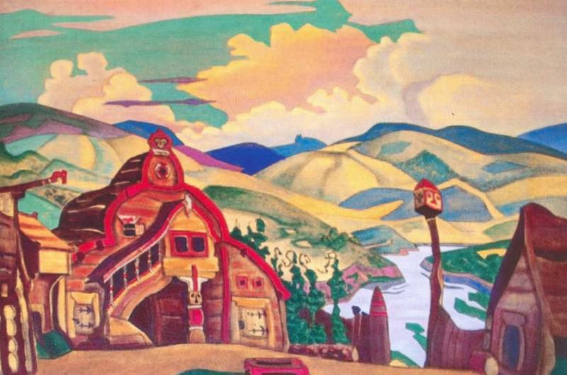 Berendey Village (Sloboda Berendeev). Roerich N.K. (Part 2)