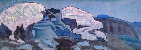 Cliffs and rocks. Roerich N.K. (Part 2)