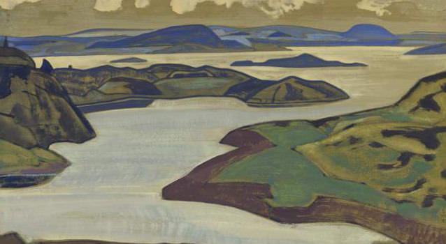 Islands. Ladoga. Roerich N.K. (Part 2)