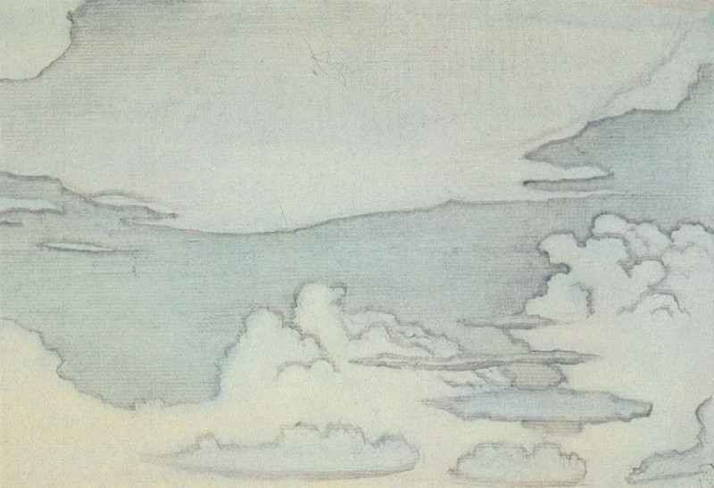 Cloud (Sketch). Roerich N.K. (Part 2)