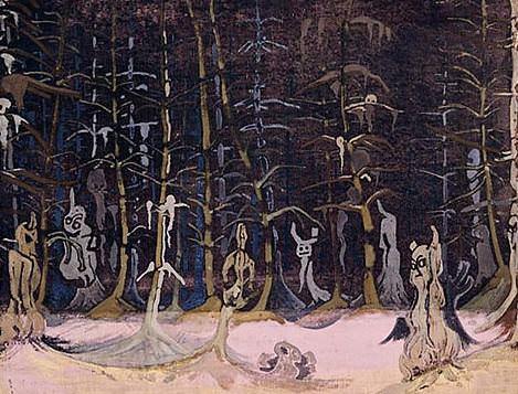 Winter gNOMES (Set Design). Roerich N.K. (Part 2)