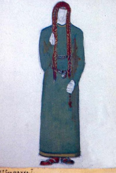Maid (1st act). Roerich N.K. (Part 2)
