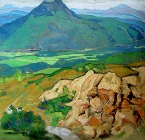 Rhine sketch. Landskrona. Roerich N.K. (Part 2)
