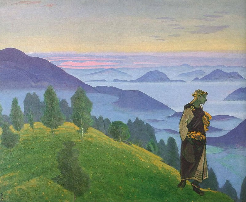 Daughter Viking (Unkrada). Roerich N.K. (Part 2)