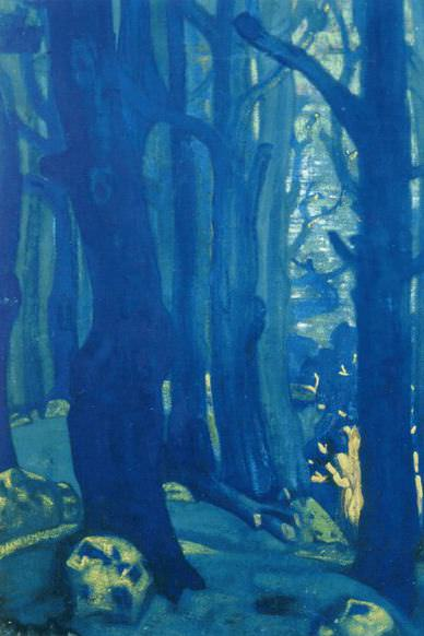 Wood. Roerich N.K. (Part 2)