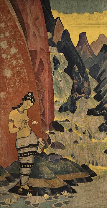 Song stream # 18 (decorative panels). Roerich N.K. (Part 2)