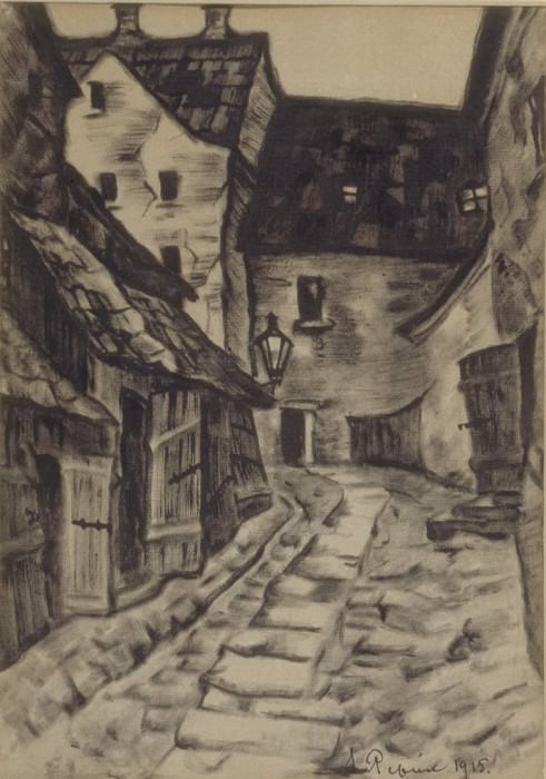 Old Town (2). Roerich N.K. (Part 2)