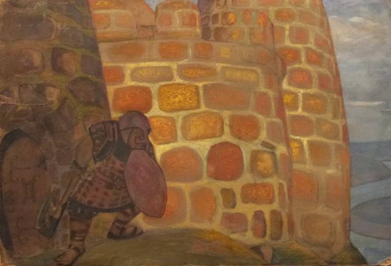 See the enemy. Roerich N.K. (Part 2)