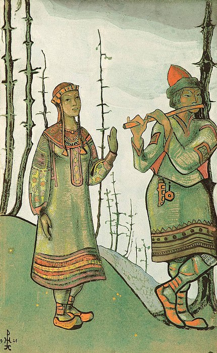 Maiden and Lel. Roerich N.K. (Part 2)