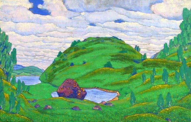 Kiss the ground (Great Sacrifice). 3rd version. Roerich N.K. (Part 2)
