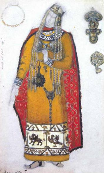 Isolde (1st act). Roerich N.K. (Part 2)