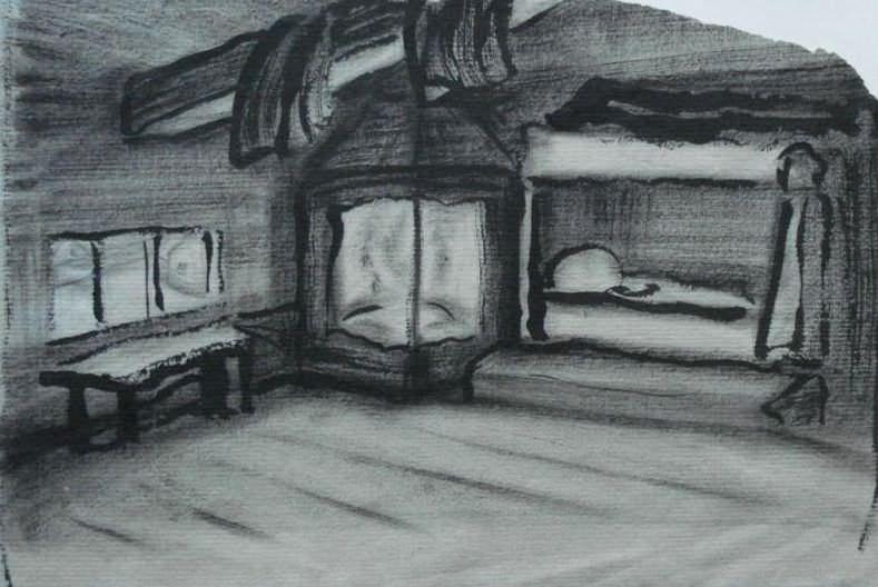 Room Oz (Sketch). Roerich N.K. (Part 2)