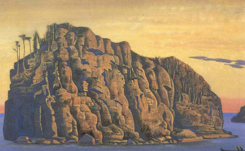 Holy island # 40. Roerich N.K. (Part 2)