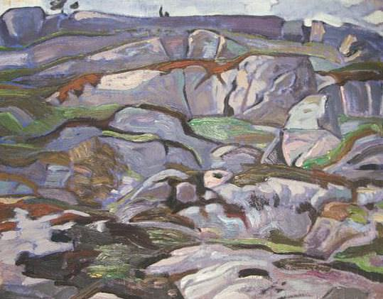 Cliffs. Roerich N.K. (Part 2)