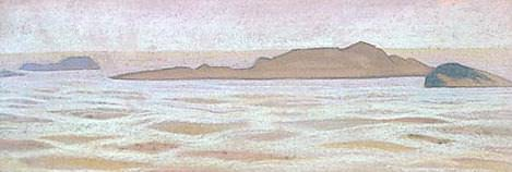 Ladoga (sketch). Roerich N.K. (Part 2)