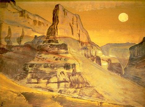 Grand Canyon, Arizona (sketch). Roerich N.K. (Part 2)