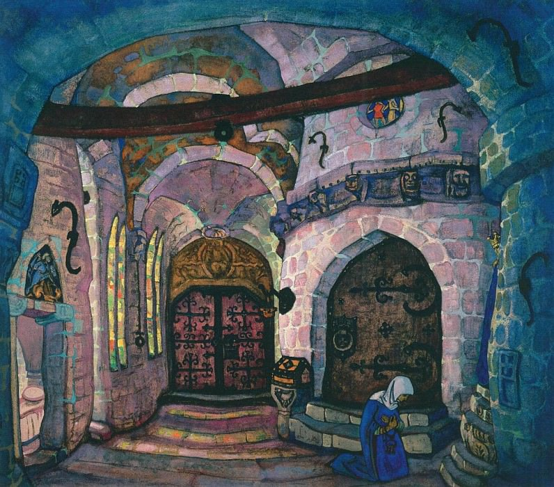 V convent (1). Roerich N.K. (Part 2)