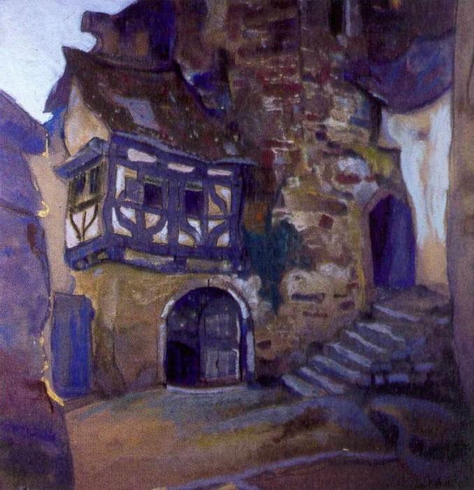 Manor in Gegstade. Roerich N.K. (Part 2)