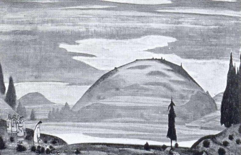 Yarilin valley. Roerich N.K. (Part 2)