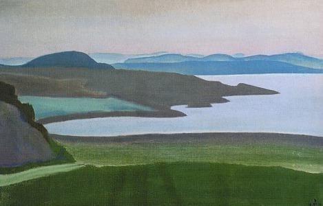 Lake Ladoga. Islands (Karelian landscape). Roerich N.K. (Part 2)